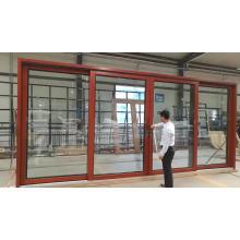 Ideas de nuevos productos 2018 puerta principal diseña puerta exterior puerta elevadora de aluminio de China proveedor