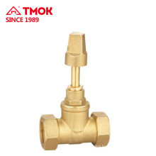 TMOK hydraulic brass stop valve with high quality and nice price in china