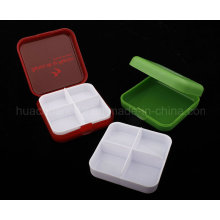 4 Grids Pill Box, Plastic Pill Box Plb24