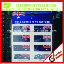 Etiqueta provisória do tatuagem da falsificação da promoção
