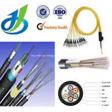 Cable de fibra óptica multimodo de 6 núcleos