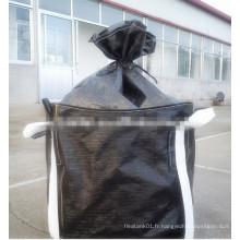 Sac blanc / noir Jumbo pour le carbone activé