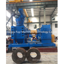 Urea fertilizer granulator for making fertilizer