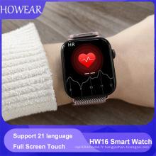 HW16 44mm Smart Watch Series6 320*385Screen Custom Picture