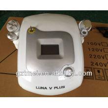 Ultrasonic (30-40Khz, 3Mhz) Cavitação corpo emagrecimento multipolar rf instrumento