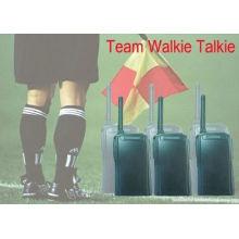 Portable Full Duplex Digital Two Way Radios / Walkie Talkie 250 Meters
