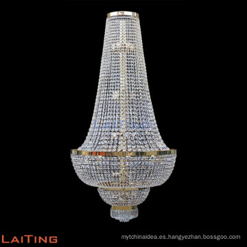 Cadena de abalorios cuadrados araña de cristal de gama alta 71147