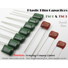 Suntan`s Small Size Plastic Film Capacitors – TS01 & TS03