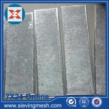 Mídia de filtro de ar com moldura