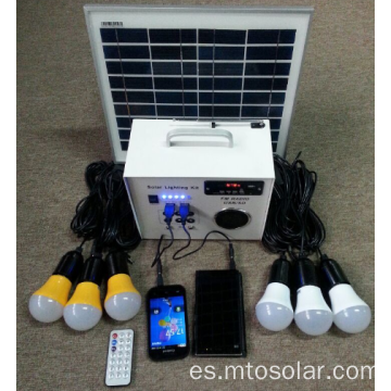 La rejilla Solar FM Radio Power Kit