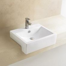 8007 Cuarto de baño semi-Counter del lavabo de cerámica del cuarto de baño