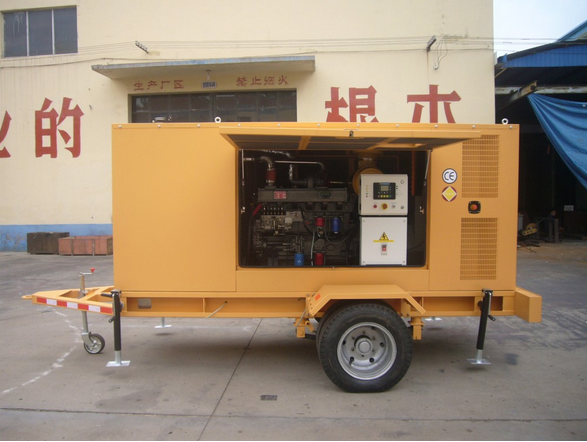 180KVA Portable Power Generator for Emergency Situation