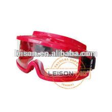 Lunette de protection incendie avec matériel ignifuge