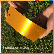 Customized Factory Cheap High Glossy Candy Orange Transparent Clear Powder Coating