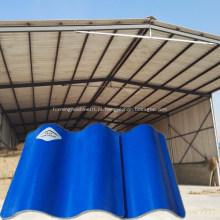 Tamanhos ondulados da folha do telhado do MgO da fibra de vidro