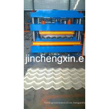 Máquina perfiladora de láminas de techo galvanizado del fabricante líder