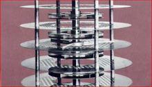 De roterende schijf toren
