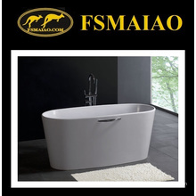 Surface solide de baignoire de résine de style moderne solide (BS-8602)
