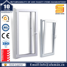 Double Pane Swing Inside Aluminum/Aluminium Window