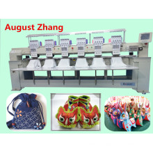 Elucky 15 colors high speed six heads embroidery machine for cap embroidery