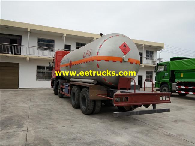 LPG Gas Tanker Trucks