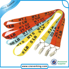Custom Logo Silkscreen Manufacturer Lanyard for Promotional Gift