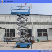 Tavol 6m Trailer Kecil Traction Scissor Lift