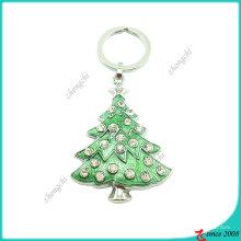 Metall Weihnachtsbaum Schlüsselanhänger (KC)