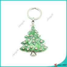 Llavero de árbol de navidad de metal (KC)
