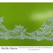 Spitze-Ordnung für Brauthochzeits-Kleid-Stickerei-Spitze-Vorhang-Gewebe CTC403