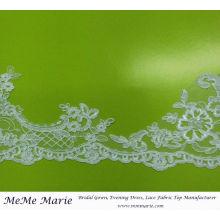 Кружевной отделкой для свадебное платье вышивка кружево ткань занавеса CTC403