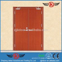 JK-FW9105 Emergeny Eexit Designs à double porte en bois