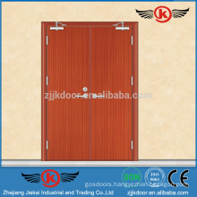JK-FW9105 Emergeny Eexit Wooden Double Door Designs