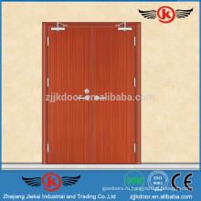 JK-FW9105 Элитные деревянные двойные дверные конструкции Eekit