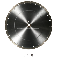 Lâmina de diamante segmentada de uso geral para raios