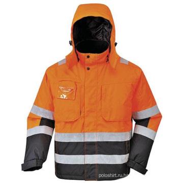 Безопасная футболка из флисовой куртки