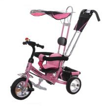 Triciclo de bebé de tres ruedas, triciclo de los niños