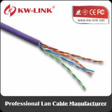 Cable de venta caliente del cable 4PR 24AWG del cable de UTP CAT5e