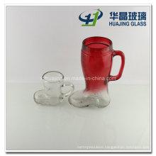 32oz Shoe Shaped Glass Mug Beer Cup
