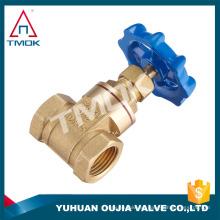 Haga clic alto en la superficie de latón de alta velocidad del doble cable en válvulas de compuerta de latón