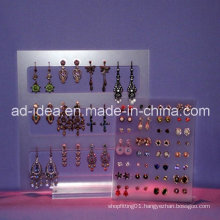 Simple Design Clear Acrylic Exhibition Stand / Exhibition for Earring