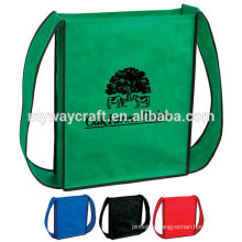 OEM production colorful shoulder shopping nonwoven bag