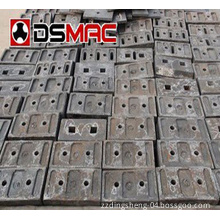 Spare Parts Ball Mill Liner Plate
