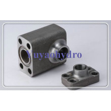Butt Weld Flange Block Hydraulic Fittings