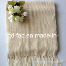 Hemp/Organic Cotton Dyed Scarf (HRS-5545)
