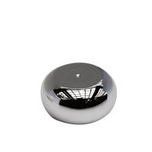 tapa redonda de plata pp pp, tapa de rosca de plata oval para tubo