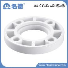 PPR White Fittings-Flange para materiales de construcción