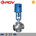 3-Wege-Dampfdurchflussmengen-Druckregelventil der elektrischen Steuerung