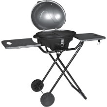 Electric Grill Barbecue With Trolley Outdoor