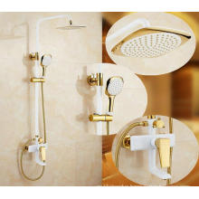 Bathroom Luxury Brass Rainfall Shower Set